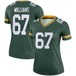 Larry Williams Green Bay Packers Women's Legend Nike Jersey - Green
