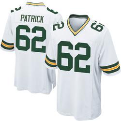 Lucas Patrick Green Bay Packers Men's Game Nike Jersey - White