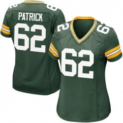 Lucas Patrick Green Bay Packers Women's Game Team Color Nike Jersey - Green