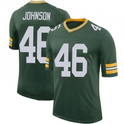 Malcolm Johnson Green Bay Packers Men's Limited 100th Vapor Nike Jersey - Green