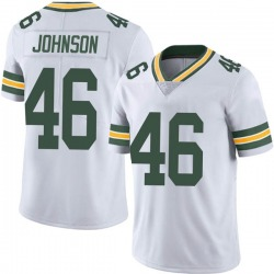 Malcolm Johnson Green Bay Packers Men's Limited Vapor Untouchable Nike Jersey - White