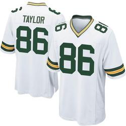 Malik Taylor Green Bay Packers Men's Game Nike Jersey - White