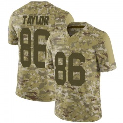 Malik Taylor Green Bay Packers Men's Limited 2018 Salute to Service Jersey - Camo
