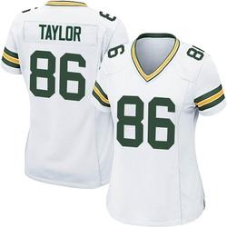 Malik Taylor Green Bay Packers Women's Game Nike Jersey - White