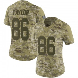 Malik Taylor Green Bay Packers Women's Limited 2018 Salute to Service Nike Jersey - Camo