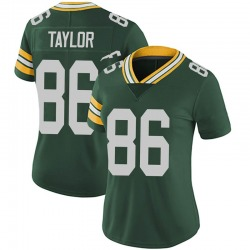 Malik Taylor Green Bay Packers Women's Limited Team Color Vapor Untouchable Nike Jersey - Green