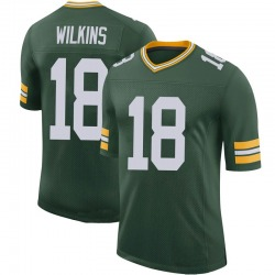 Manny Wilkins Green Bay Packers Men's Limited 100th Vapor Nike Jersey - Green