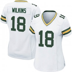 Manny Wilkins Green Bay Packers Women's Game Nike Jersey - White