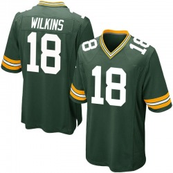 Manny Wilkins Green Bay Packers Youth Game Team Color Nike Jersey - Green