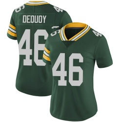 Marc-Antoine Dequoy Green Bay Packers Women's Limited Team Color Vapor Untouchable Nike Jersey - Green