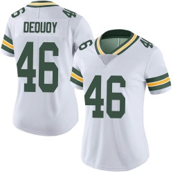 Marc-Antoine Dequoy Green Bay Packers Women's Limited Vapor Untouchable Nike Jersey - White