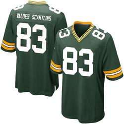 Marquez Valdes-Scantling Green Bay Packers Men's Game Team Color Nike Jersey - Green