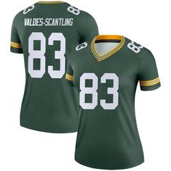 Marquez Valdes-Scantling Green Bay Packers Women's Legend Nike Jersey - Green