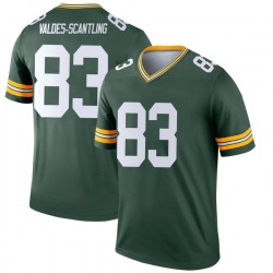 Marquez Valdes-Scantling Green Bay Packers Youth Legend Nike Jersey - Green