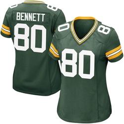 Martellus Bennett Green Bay Packers Women's Game Team Color Nike Jersey - Green