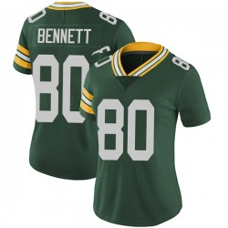 Martellus Bennett Green Bay Packers Women's Limited Team Color Vapor Untouchable Nike Jersey - Green