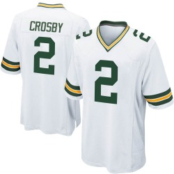 Mason Crosby Green Bay Packers Men's Game Nike Jersey - White