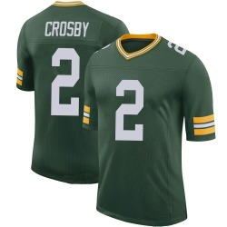 Mason Crosby Green Bay Packers Men's Limited 100th Vapor Nike Jersey - Green