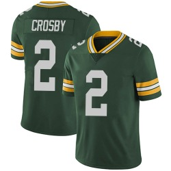 Mason Crosby Green Bay Packers Men's Limited Team Color Vapor Untouchable Nike Jersey - Green