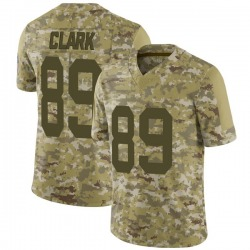 Michael Clark Green Bay Packers Men's Limited 2018 Salute to Service Nike Jersey - Camo