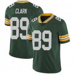 Michael Clark Green Bay Packers Youth Limited Team Color Vapor Untouchable Nike Jersey - Green
