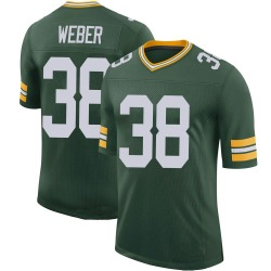 Mike Weber Green Bay Packers Men's Limited 100th Vapor Nike Jersey - Green