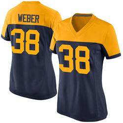 Mike Weber Green Bay Packers Women's Game Alternate Nike Jersey - Navy