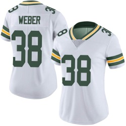 Mike Weber Green Bay Packers Women's Limited Vapor Untouchable Nike Jersey - White