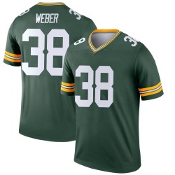 Mike Weber Green Bay Packers Youth Legend Nike Jersey - Green