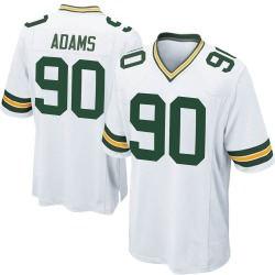 Montravius Adams Green Bay Packers Youth Game Nike Jersey - White