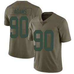 Montravius Adams Green Bay Packers Youth Limited Salute to Service Nike Jersey - Green