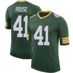 Nydair Rouse Green Bay Packers Men's Limited 100th Vapor Nike Jersey - Green