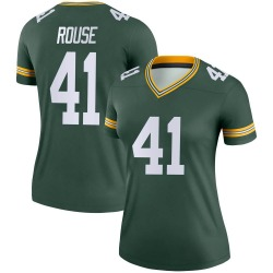 Nydair Rouse Green Bay Packers Women's Legend Nike Jersey - Green
