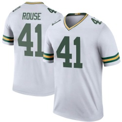 Nydair Rouse Green Bay Packers Youth Color Rush Legend Nike Jersey - White