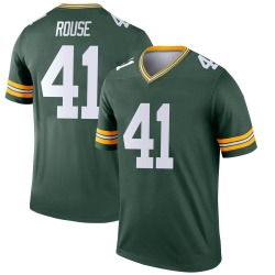 Nydair Rouse Green Bay Packers Youth Legend Nike Jersey - Green