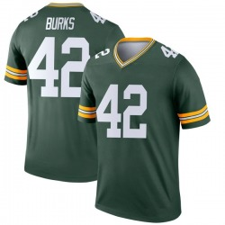 Oren Burks Green Bay Packers Men's Legend Nike Jersey - Green