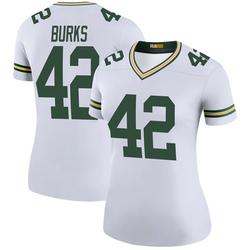 Oren Burks Green Bay Packers Women's Color Rush Legend Nike Jersey - White