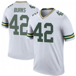 Oren Burks Green Bay Packers Youth Color Rush Legend Nike Jersey - White