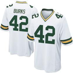 Oren Burks Green Bay Packers Youth Game Nike Jersey - White