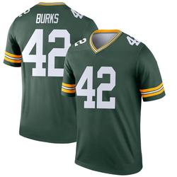 Oren Burks Green Bay Packers Youth Legend Nike Jersey - Green