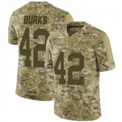 Oren Burks Green Bay Packers Youth Limited 2018 Salute to Service Nike Jersey - Camo
