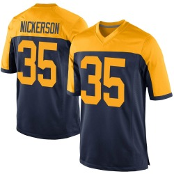 Parry Nickerson Green Bay Packers Men's Game Alternate Nike Jersey - Navy