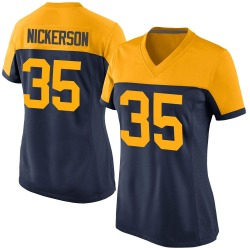 Parry Nickerson Green Bay Packers Women's Game Alternate Nike Jersey - Navy