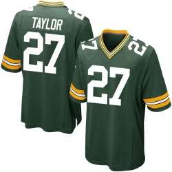 Patrick Taylor Jr. Green Bay Packers Men's Game Team Color Nike Jersey - Green