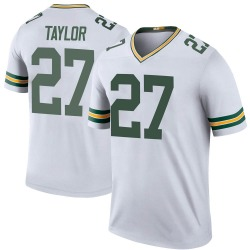 Patrick Taylor Jr. Green Bay Packers Youth Color Rush Legend Nike Jersey - White