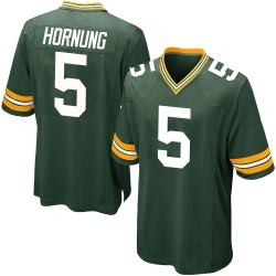 Paul Hornung Green Bay Packers Men's Game Team Color Nike Jersey - Green