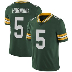 Paul Hornung Green Bay Packers Men's Limited Team Color Vapor Untouchable Nike Jersey - Green