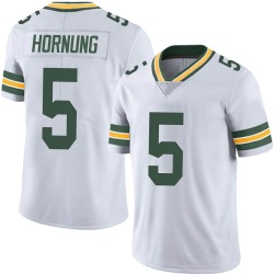 Paul Hornung Green Bay Packers Men's Limited Vapor Untouchable Nike Jersey - White