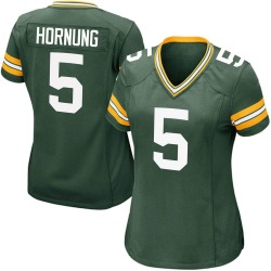Paul Hornung Green Bay Packers Women's Game Team Color Nike Jersey - Green