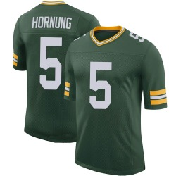 Paul Hornung Green Bay Packers Youth Limited 100th Vapor Nike Jersey - Green